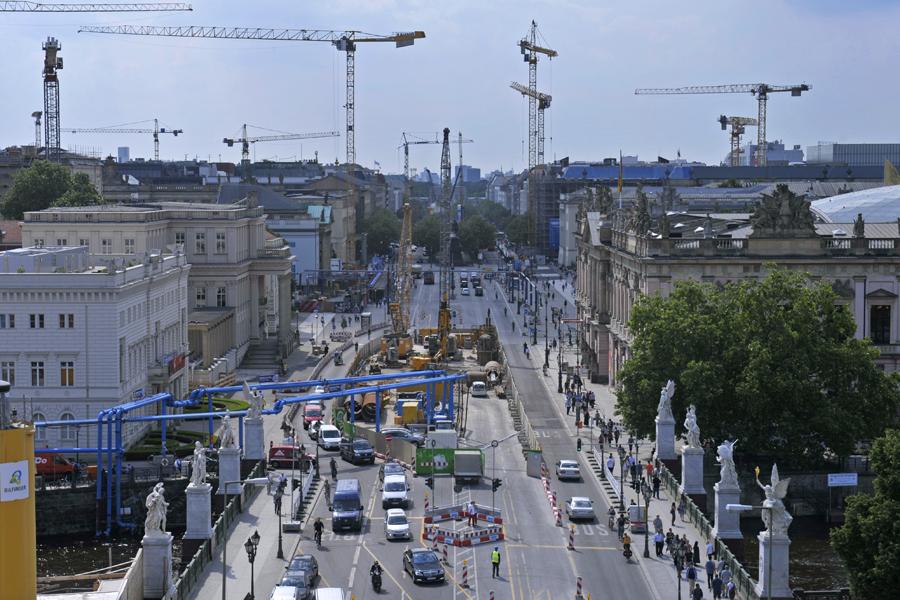 Baustelle Unter den Linden Fotograf: Thomas Platow, Landesarchiv Berlin