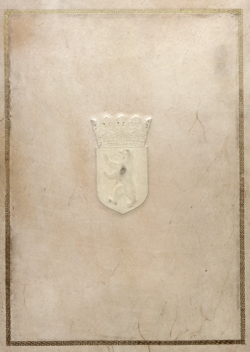 Titel des 4. Bandes des Goldenen Buches von Berlin, Repositur F Rep. 237 Nr. 52