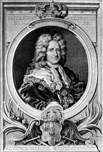 Potrait Friedrichs III.(I.) (1657 - 1713) König in Preußen