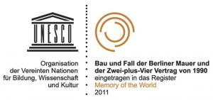 Unesco Dokumentenerbe Bau und Fall der Berliner Mauer und der Zwei-plus-Vier Vertrag von 1990 Memory of the World 2011