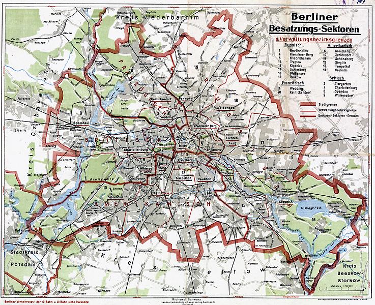 berlin ost west karte Karte Ost West Berlin | goudenelftal berlin ost west karte