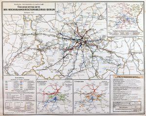 1933, Entwurf und Druck Deutsche Reichsbahn-Gesellschaft A Rep. 080 (Karten), Nr. 253