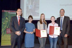 Schülerinnen der Evangelischen Schule Frohnau