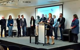Vorstellung der Kandidatinnen und Kandidaten, Foto: Thomas Platow/Landesarchiv Berlin