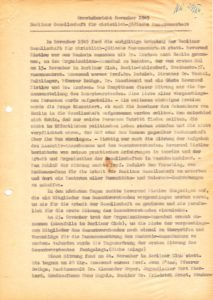 Monatsbericht der Gesellschaft für Christlich-Jüdische Zusammenarbeit von 1949, B Rep. 232-35 Nr. 1