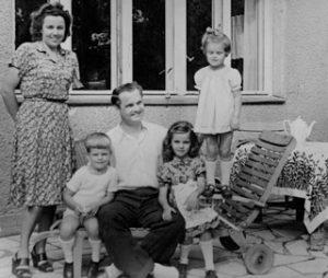 Die Familie Anders im Sommer 1946, E Rep. 400-05 Nr. 16