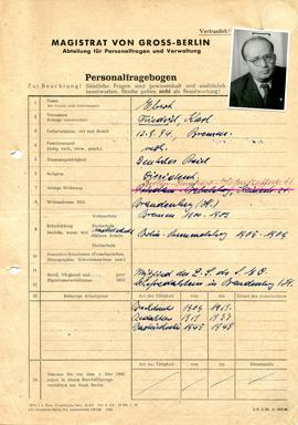 Personalfrageborgen Friedrich Ebert, C Rep. 124-02, Nr. 16911