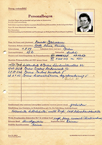 Personalfrageborgen Edith Honecker-Baumann, C Rep. 124-02, Nr 16783