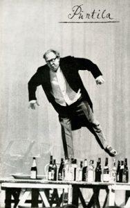 "Programmheft der Deutschen Staatsoper ""Puntila"" (Reiner Süß als Puntila ), 1964, C Rep. 167 Nr. 1110"