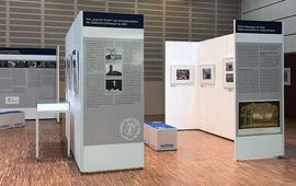Blick in das Ausstellungsfoyer
