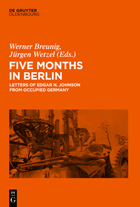 """Cover des Buches """"Five months in Berlin"""""""