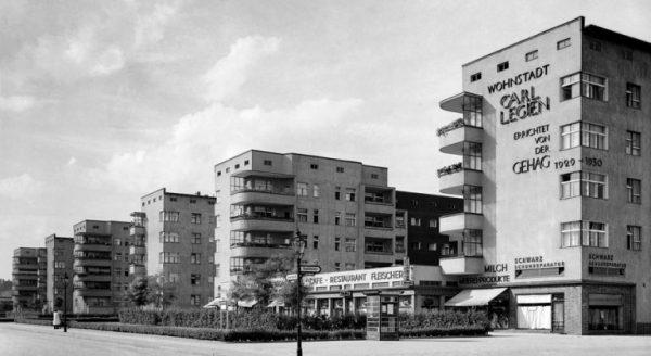 """Wohnstadt """"Carl legien"""", Foto von Otto Hagemann"""